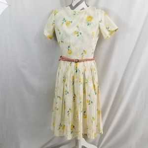 《Vintage Toni Todd》Floral Roses Dress